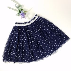 Hanna Andersson | Navy Starry Skirt in Soft Tulle
